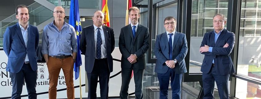 Reunión de ANEFHOP con la Dirección General de Industria y Competitividad de la Junta de Castilla y León